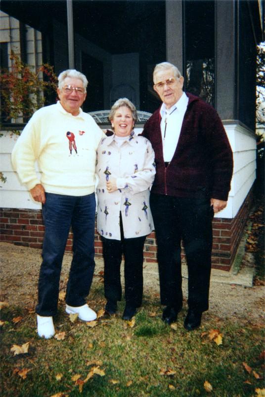 02 - Bob Brundage, Mil & Anna Dixon