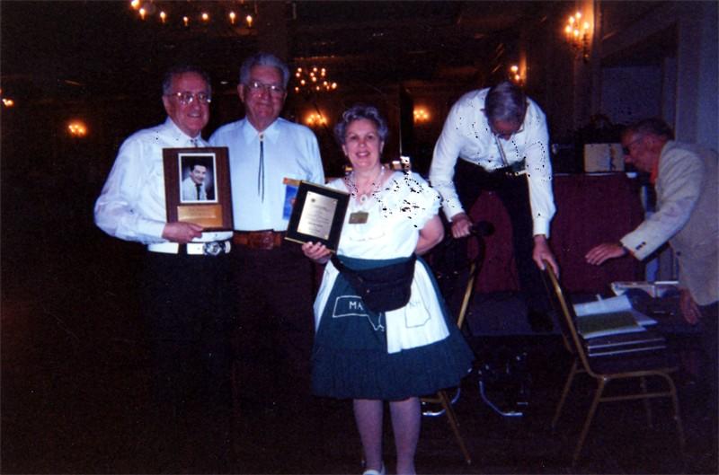 05 - Dick Sevrance, Bob Brundage, Anna Dixon