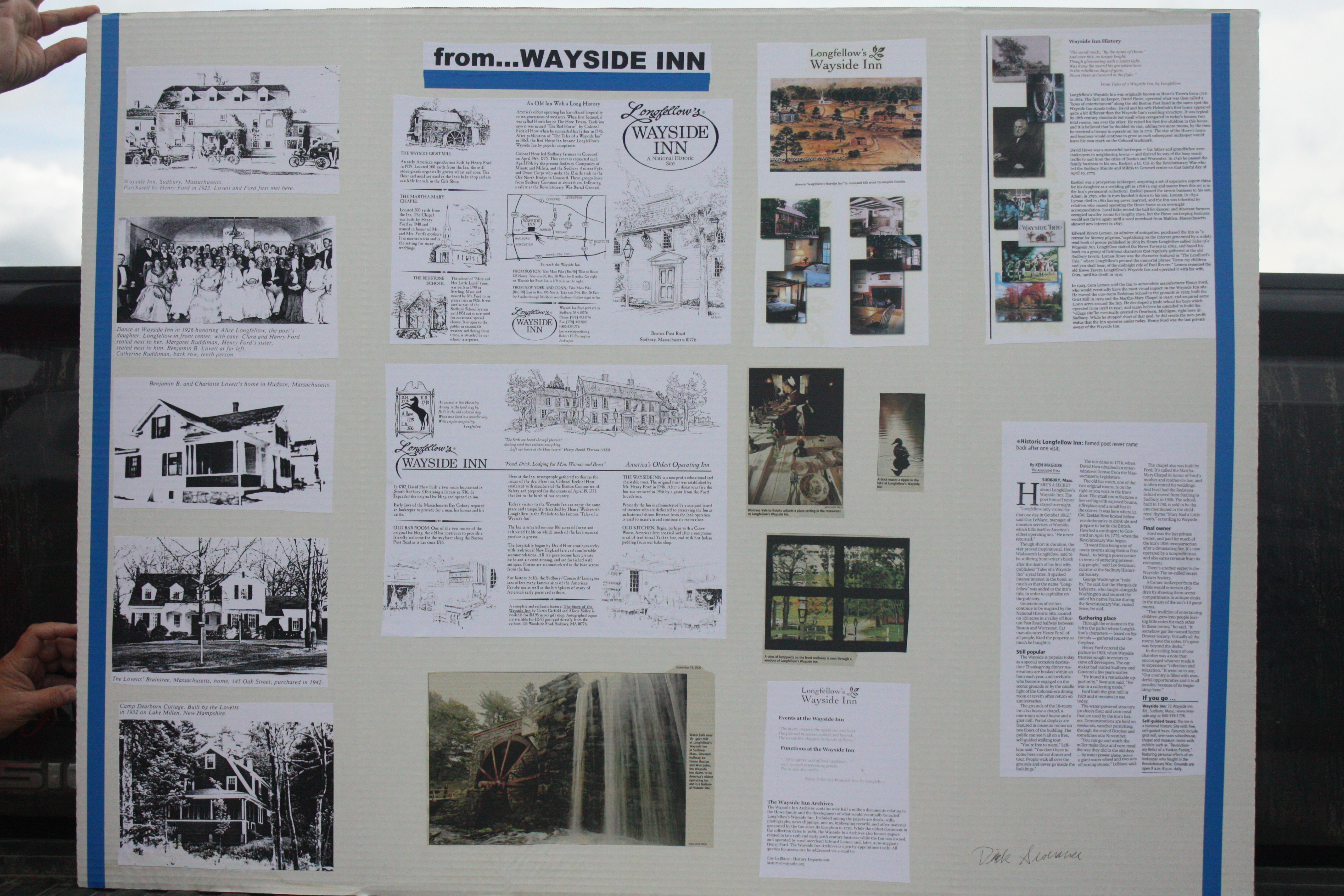 Panel #10(Wayside Inn)